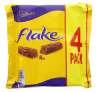 Cadbury Flake 4PK 20x80g [Regular Stock], Cadbury, Chocolate Bar/Bag- HP Imports