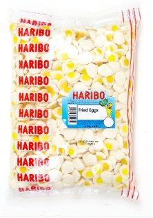 Haribo Small Fried Eggs 3kg [Regular Stock], Haribo, Bulk Candy- HP Imports