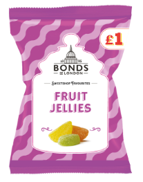 Bonds Fruit Jellies (PM) Share Bags 12x150g [Regular Stock], Bonds, Bagged Candy- HP Imports