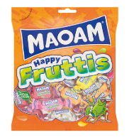 Haribo Maoam Happy Fruittis 12x140g [Regular Stock], Haribo, Bagged Candy- HP Imports