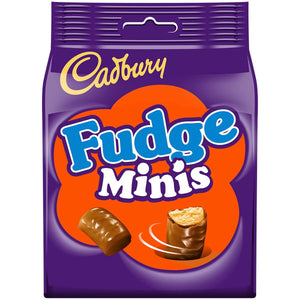 Cadbury Fudge Minis 10x120g [Regular Stock], Cadbury, Chocolate Bar/Bag- HP Imports
