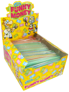 Crazy Candy Factory Funny Money 24x14g [Regular Stock], Crazy Candy Factory, Bagged Candy- HP Imports