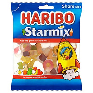 Haribo Starmix 12*140g [Regular Stock], Bagged Candy, Haribo, [variant_title],HP Imports British Wholesale Distribution