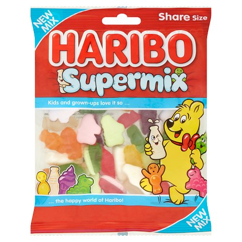 Haribo Supermix 12x140gm [Regular Stock], Haribo, Bagged Candy- HP Imports
