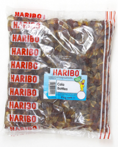 Haribo Happy Cola Bottles (small)  3kg [Regular Stock]