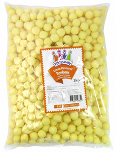 Kingsway Lemon Bonbons 3kg [Regular Stock], Kingsway, Bulk Candy- HP Imports