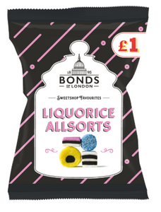 Bonds Liquorice Allsorts (PM) Share Bags 12x150g [Regular Stock], Bonds, Bagged Candy- HP Imports