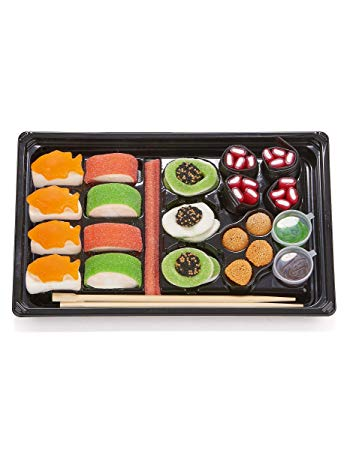 Look O Look Candy Sushi Tray Single Units 300g [Regular Stock], Look O Look, Bagged Candy- HP Imports