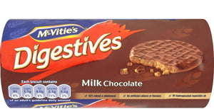 McVitie's Digestives Milk Chocolate Biscuits 12x266g [Regular Stock], Mcvitie's, Biscuits/Crackers- HP Imports