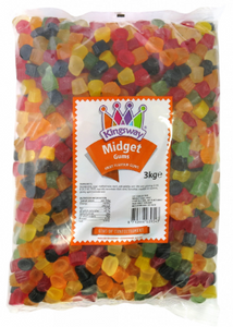 Kingsway Midget Gums 3kg [Regular Stock], Kingsway, Bulk Candy- HP Imports