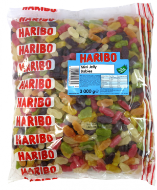 Haribo Mini Jelly Babies 3kg [Regular Stock]