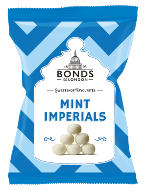 Bonds Mint Imperials 12*150g [Regular Stock], Bagged Candy, Bonds, [variant_title],HP Imports British Wholesale Distribution
