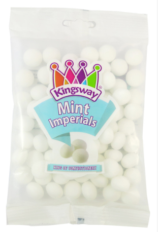 Kingsway Mint Imperials 3kg [Regular Stock], Kingsway, Bulk Candy- HP Imports