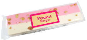 Real Candy Co. Peanut Pink & White Nougat 12x150g [Regular Stock], Real Candy Co., Bagged Candy- HP Imports