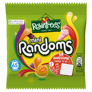Rowntree's Randoms Minis (PM) 60x20g [Regular Stock], Rowntrees, Bagged Candy- HP Imports