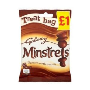 Mars Galaxy Minstrels Treat (PM) 20x80g [Regular Stock], Mars, Chocolate Bar/Bag- HP Imports