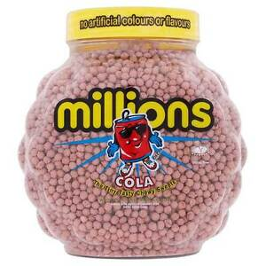 Millions Cola Jar 2.2kg [Regular Stock], Millions, Bulk Candy- HP Imports