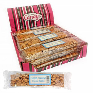 Real Candy Co. Salted Caramel Peanut Brittle 12x150g  [Regular Stock]