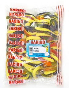 Haribo Yellow Bellies (snakes) 3kg [Regular Stock]