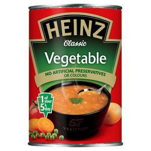 Heinz Vegetable Soup 24x400g [Regular Stock], Heinz, Soups- HP Imports