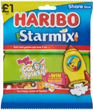 Haribo Starmix (PM) 12x180g [Regular Stock], Haribo, Bagged Candy- HP Imports