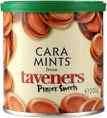 Taveners Caramints Travel Tin 12*200g [Regular Stock], Taveners, Bagged Candy- HP Imports