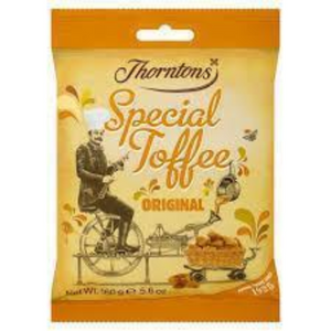 Thornton's Original Toffee Bags (PM) 12x130g [Regular Stock], Thorntons, Bagged Candy- HP Imports
