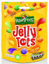 Rowntree's Jelly Tots 10x150g [Regular Stock], Rowntrees, Bagged Candy- HP Imports