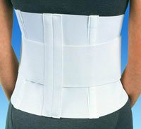 "79-89007 Support Sacro-Lumbar Ortho Procare Large All Elastic White 10"" Part# 79-89007 by DJO, Inc Qty of 1 Unit"