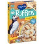 Barbara's Puffins Cereal Honey Rice 10 OZ (Pack of 9)