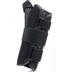 "Florida Orthopedics Prolite 8"" Airflow Wrist Brace with Abducted Thumb, Black, Right, Large/X-Large"