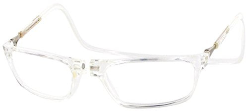 Clic Magnetic Executive Reading Glasses in Clear ; 1.50