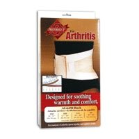 Back Support Arthritic Therapy Beige Medium 32-36""