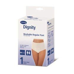 Hartmann 16902 Dignity Absorbent Washable Pant with Built-in Protective Pouch, Small, 30