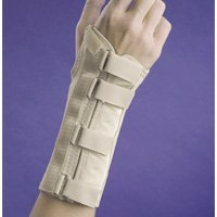 FLA Orthopedics 22-561SMBEG Soft Form Elegant Wrist Support Left Beige, Small by FLA Orthopedics