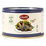 Galil Home Style Stuffed Grape Leaves Non GMO 14 Oz. Pack Of 6.
