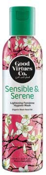 GOOD VIRTUES CO Lightening Feminine Hygiene Wash 150ml- Gently cleanses Intimate Areas, Helping to Maintain a Sensible pH Balance for All-Day Freshness and Comfort