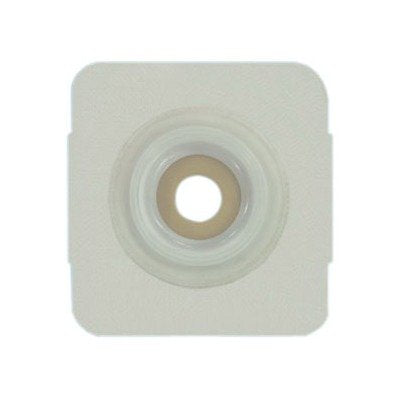EI7822134BX - Securi-T USA Extended Wear Convex Pre-Cut 7/8 Wafer White Tape Collar (4 x 4)