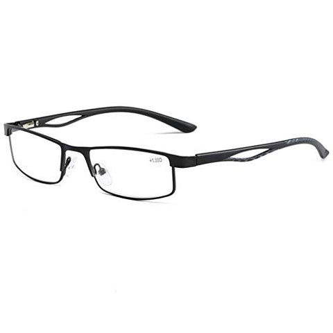 QQAA Rectangular Reading Glasses,Reduce Headaches&Eyestrain,Stylish for Women/Men,Always Have A Stylish Look and Crystal Clear Vision When You Need It