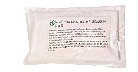 Gjs Gourmet Tofu Coagulant   Perfect For Making Organic Tofu Using Automatic Soy Milk Makers