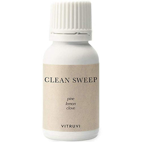 vitruvi Clean Sweep, Fresh Essential Oil Blend, 100% Pure Pine, Lemon and Clove (0.5 fl.oz)