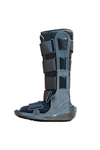 Alpha Medical Cam Walker Fracture Boot Walk Cast Ankle Sprain L4386 (Small)