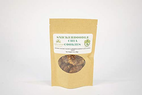 Snickerdoodle Chia Cinnamon Sugar Cookies 4 Pack
