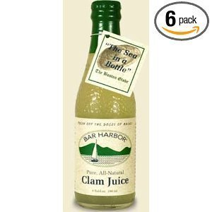 Bar Harbor Pure All Natural Clam Juice -- 8 fl oz by Sappo Hill