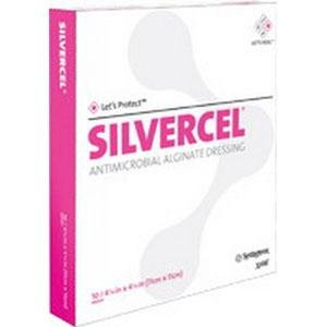Systagenix Wound Management 53800202 Silvercel Antimicrobial Alginate Dressing 2 X 2,Systagenix Woun