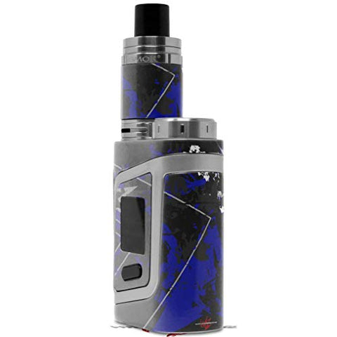 Skin Decal Wrap for Smok AL85 Alien Baby Baja 0003 Royal Blue Vape NOT Included