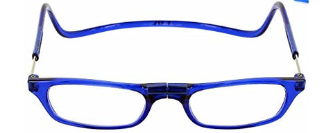 Clic Magnetic Reading Glasses in Blue ; +2.50