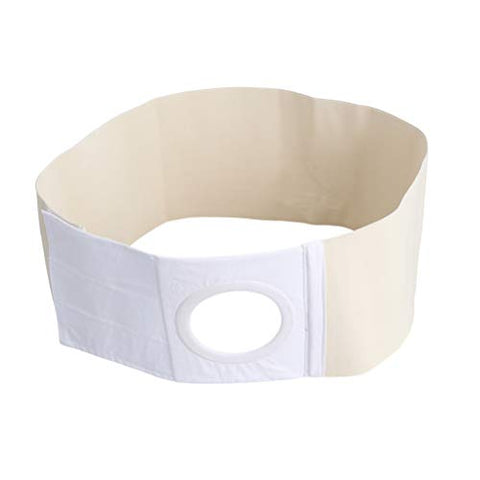 Milisten Ostomy Hernia Belt Medical Stoma Support for Colostomy Bag Abdominal Binder with Stoma Opening Size S