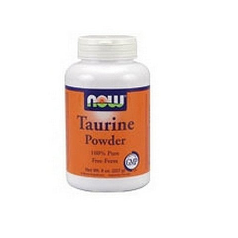 Now Foods Taurine Powder, 8 Ounces (Pack of 2)