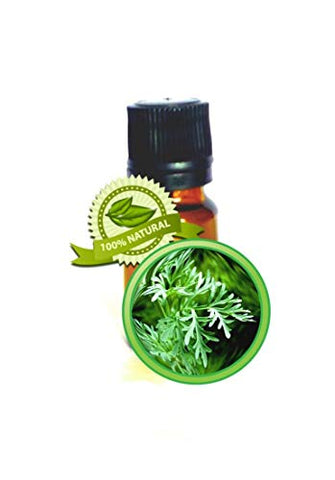 Wormwood Essential Oil - 100% Pure Artmesia Absinthium - 5ml (1/6oz)